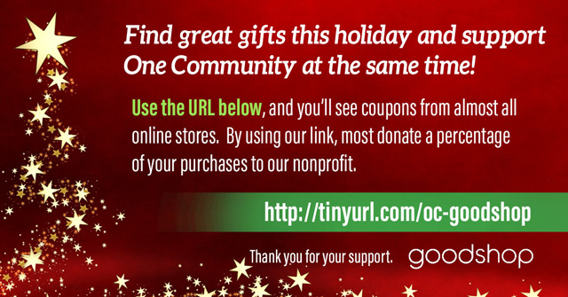 One Community-Goodshop holiday promotion-640