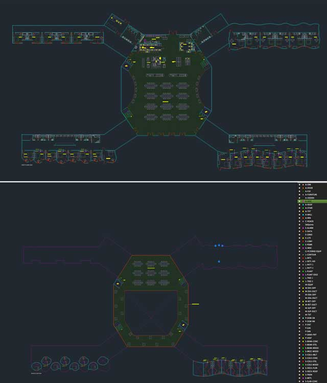 finished updating the AutoCAD files to standardized formats for the Cob Village (Pod 3)