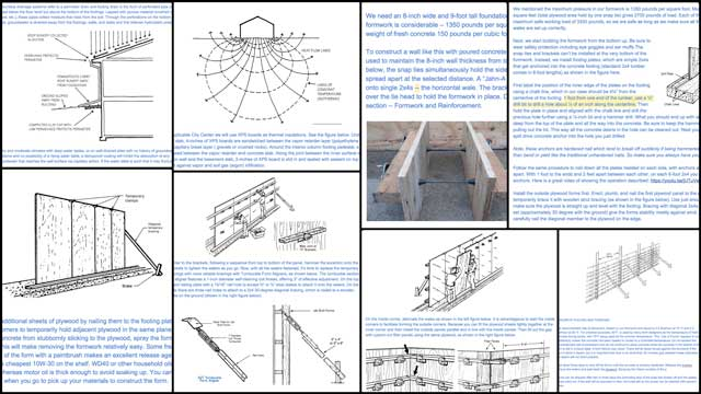 Jin Yu (Structural Engineering Designer) also completed her 15th week working on the City Center Footers, Foundation, and Flooring tutorial. This week's focus was writing more content for the water proofing and workflow sections, some of which you can see in these behind-the-scenes screenshots.