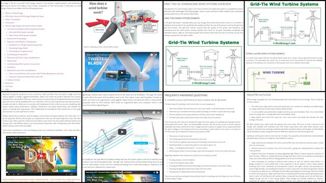 The core team also completed the menus, formatting, addition of videos, and updates to all the pictures for the wind power tutorial. You can see some pictures of this work here and visit the website for the complete page.