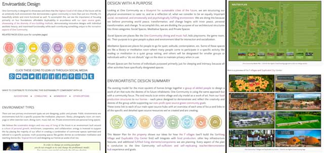 The core team also updated the Enviroartistic Design page with the new graphic and others, plus new content