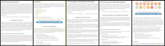 This week thecore team, as part of working on theHighest Good societysearch engine, updated all the pages shown here with current formatting and icons.