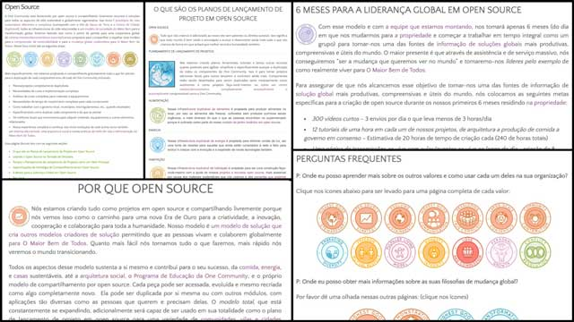 AndVivian Rodrigues (Translator)also continued helping translate our overview pages. This week she finished theOpen Source pageas shownhere in Portuguese.