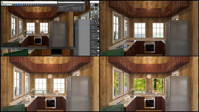 RufinoLagundaon (3D Designer)also joined the team and began working on theTree House Villageinternal renders for the dining structure, as shown here.