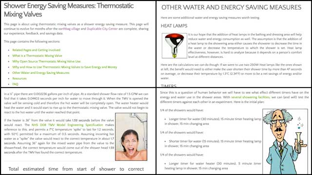 updated thecomplete thermostatic mixing valve page.