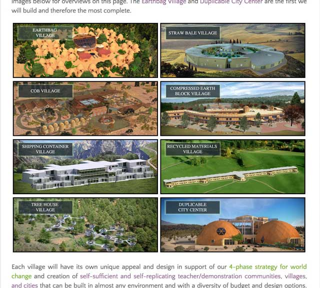 And the core team created and updated the remaining complete Tree House Village images throughout the site.