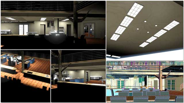 Dean Scholz (Architectural Designer) continued helping us create quality Cob Village (Pod 3) renders. Here is update 86 of Dean's work, continuing to test and develop the textures and lighting from the skylights and windows for the central dining and presentation hall.
