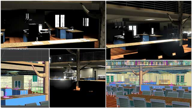 Dean Scholz (Architectural Designer) continued helping us create quality Cob Village (Pod 3) renders. Here is update 85 of Dean's work, continuing to test and develop the textures and lighting from the skylights and windows for the central dining and presentation hall.