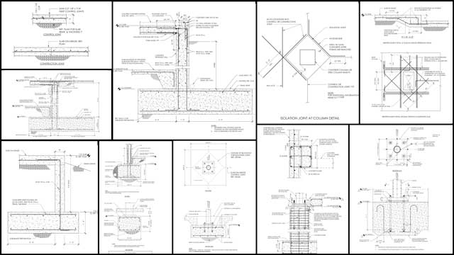 AndJin Yu(Structural Engineering Designer)also continued her work on the concrete foundation design and tutorial details for theDuplicable City Center. What you see here is a summary of several weeks of work updating the related AutoCAD drawings.