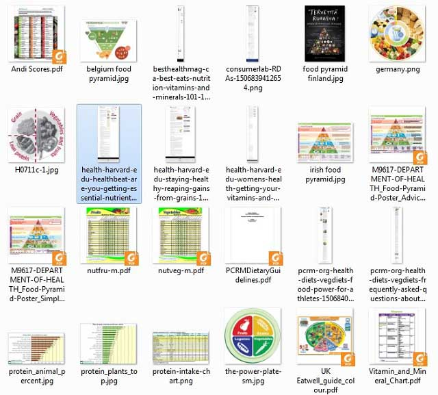 This week,the core teamcontinued researching and organizing, and made these images of the recently found resources for ourFood Self-sufficiency Transition PlanandSustainable Food Nutrition Calculations page, as you see here.