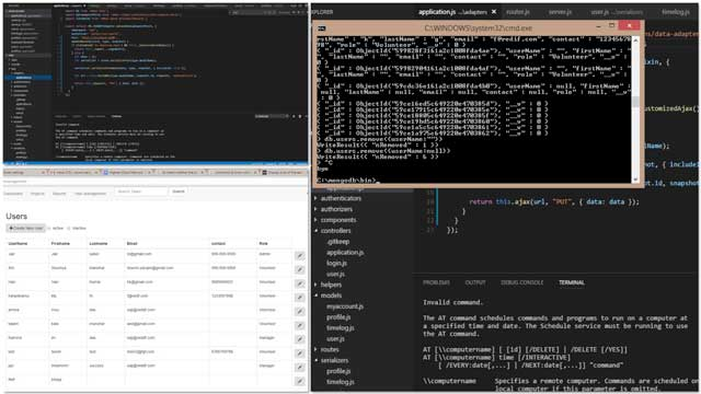 Sowmya Manohar (Software Engineer, Web Developer & Net Application Developer)working on theHighest Good Network softwaresuccessfully updated the data in MongoDB through Express and completed the PUT operation in Ember.