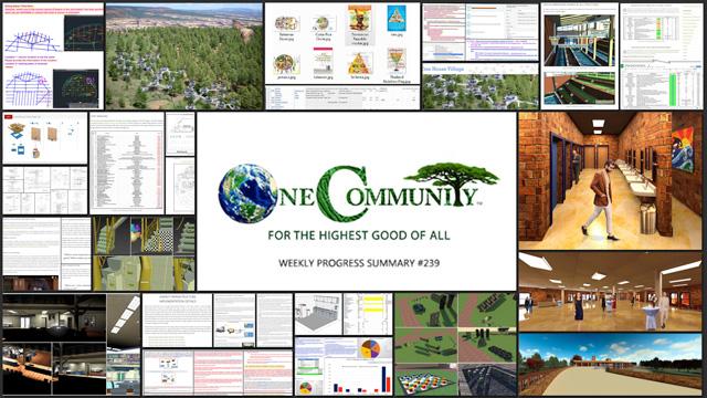 Measurable Sustainable Change – One Community Weekly Progress Update #239