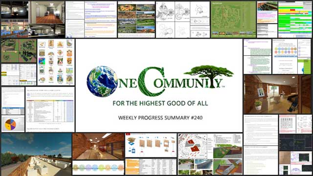 The Science of Sustainable Ecology – One Community Weekly Progress Update #240