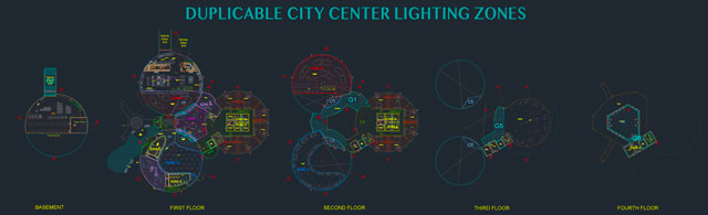 Eco-lighting, green lighting, LEED Platinum lighting, open source lighting, sustainable lighting, Duplicable City Center, Highest Good energy, saving money with lighting, saving power with lights, energy-saving lights, LED lighting, lighting plan