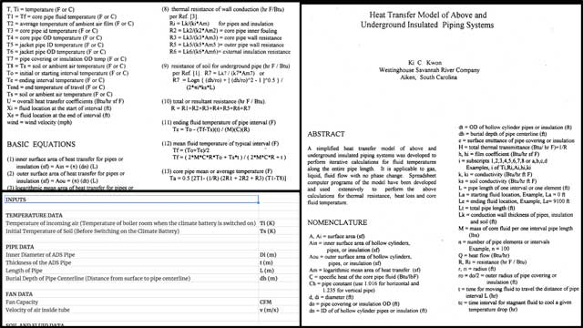 Jagannathan Shankar Mahadevan(Mechanical Engineer) also continued working on the climate battery designs and research. What you see here is some of his research and the new spreadsheet we're creating to calculate how much heat is stored in the battery at any time we wish to analyze during the year.
