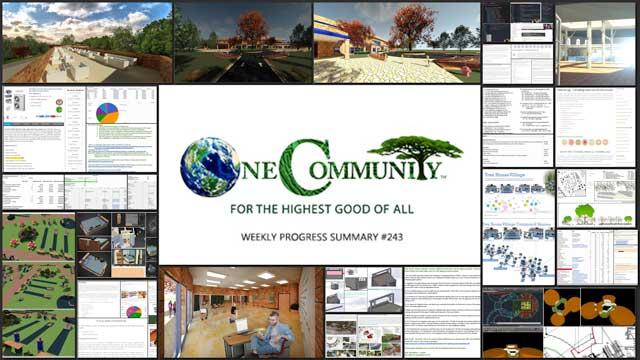 Managing Sustainable Change - One Community Weekly Progress Update #243