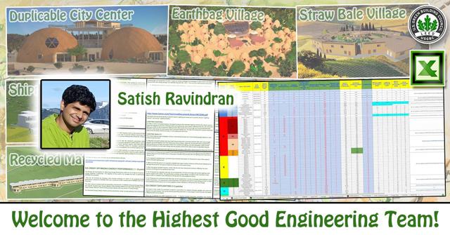 Satish Ravindran, announcement, one community