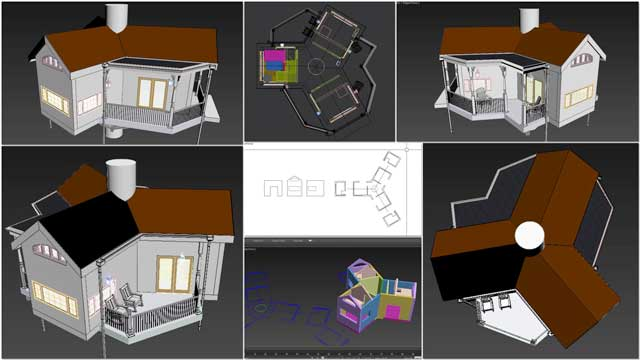 """Mihaela """"Michelle"""" Pinzaru (Interior Designer and Architectural Drafter)also joined the team and completed her 1st week taking over development of theTree House Village (Pod 7)residential designs. This week she updated the AutoCAD layout and fixed the walls and roofs to match the new floor plan."""