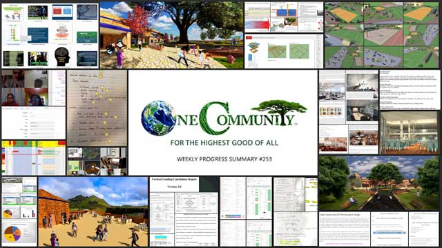 One Community blog 253, collage for youtube