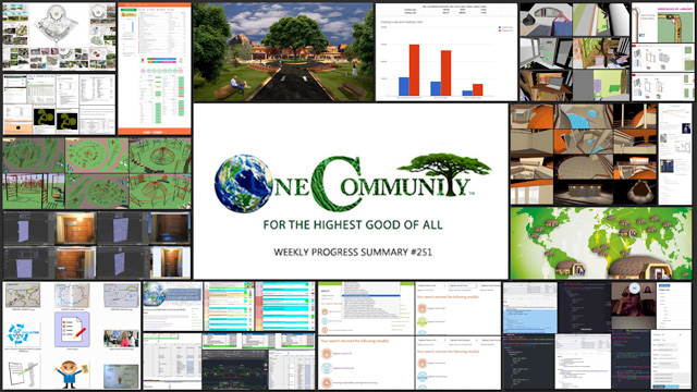 Systems for Global Conservation - One Community Weekly Progress Update #251