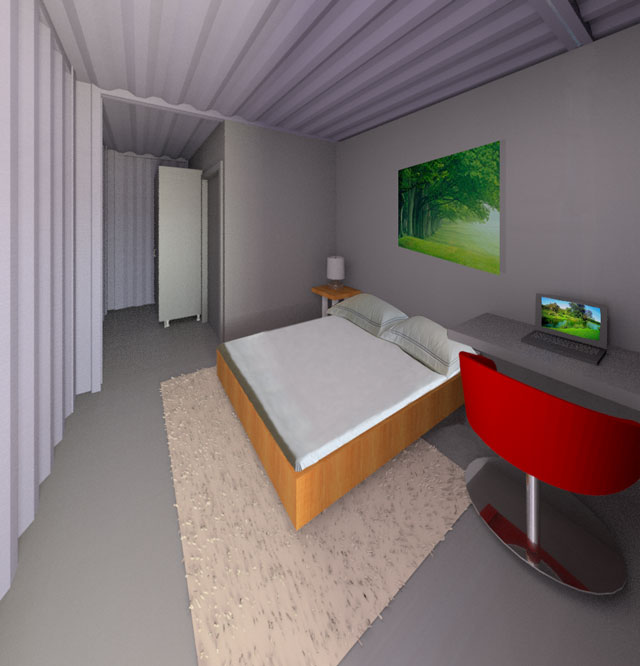 Shipping Container Village One Community Open Source