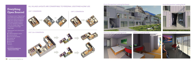 Shipping Container Village - One Community Open Source ...