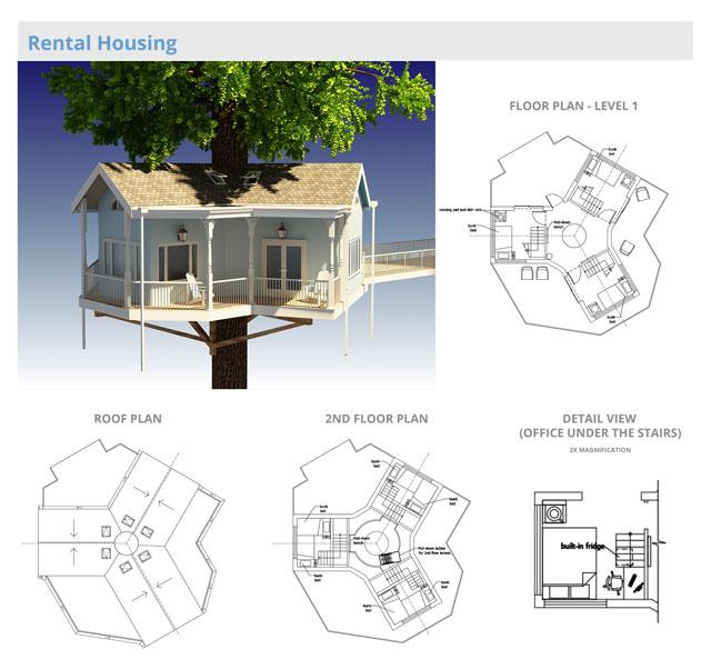 Peachy Tree House Village One Community Pod 7 Download Free Architecture Designs Scobabritishbridgeorg