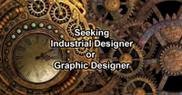 Seeking Industrial Designer/Graphic Designer
