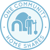 One Community home shares icon, housing credits, community housing, shared housing, nonprofit housing, One Community Pioneers, eco-living, sustainable living, eco-community, eco-housing, Highest Good housing