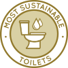Most sustainable toilets, materials, sustainable infrastructure, sustainability icon, Highest Good Housing, eco-living, green living, permaculture, One Community, Open source sustainability, healthy construction materials, Duplicable City Center, sustainable living, water-saving, resource saving, ecological, holistic living