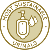 Most sustainable urinals, materials, sustainable infrastructure, sustainability icon, Highest Good Housing, eco-living, green living, permaculture, One Community, Open source sustainability, healthy construction materials, Duplicable City Center, sustainable living, water-saving, resource saving, ecological, holistic living