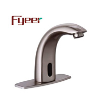 Fyeer Automatic Touchless Sensor Bathroom Faucet, sustainable sinks, sink sustainability, green living, eco-living, Highest Good housing