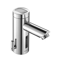 Sloan Optima Solis Solar Powered Sensor Activated Electronic Faucet, sustainable sinks, sink sustainability, green living, eco-living, Highest Good housing