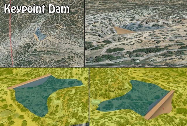 Keypoint Dam, Keypoint Dam Construction, DIY Keypoint Dam, Build Your Own Keypoint Dam, Open Source Dams, Highest Good Food, Highest Good Housing, One Community Global