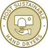 best hand dryers, most sustainable hand dryers, most eco-friendly hand dryers, low-energy hand dryers, green living, Highest Good housing, sustainable living, green hand dryers, eco-hand dryers, in-home hand dryers, commercial hand dryers, drying hands sustainably, hand drying ecologically, saving resources when drying hands