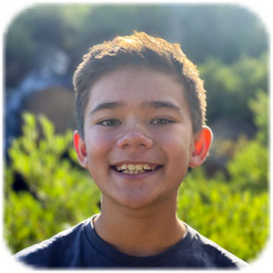 Hakan age 8 pioneer pic